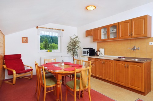 Apartment – kitchen with dining area